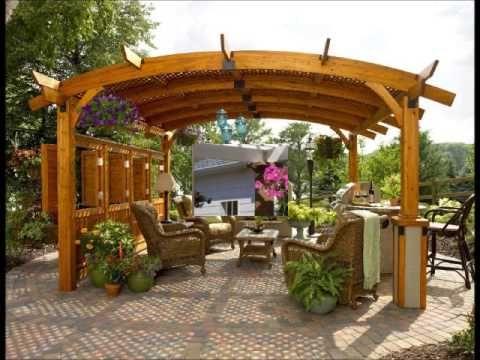 Pergolas y cenadores en dise o de jardines hd 3d arte y jardiner a dise o de jardines - Diseno de jardines 3d ...