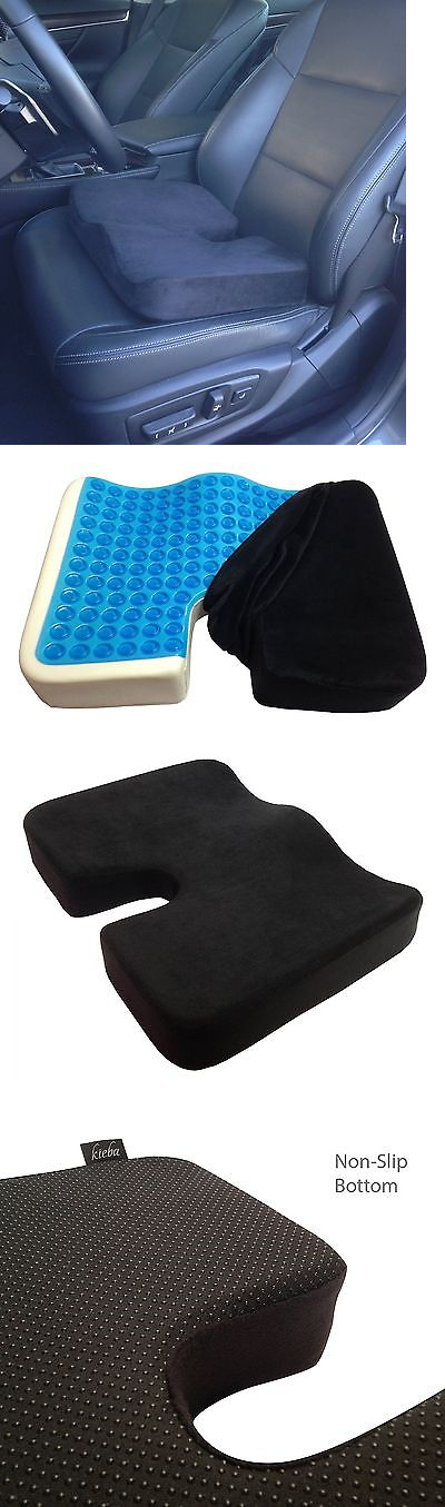 massage pillows and bolsters orthopedic gel seat cushion truck car pain sciatica protection soft comfort