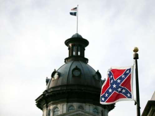 good riddance - confederate flag