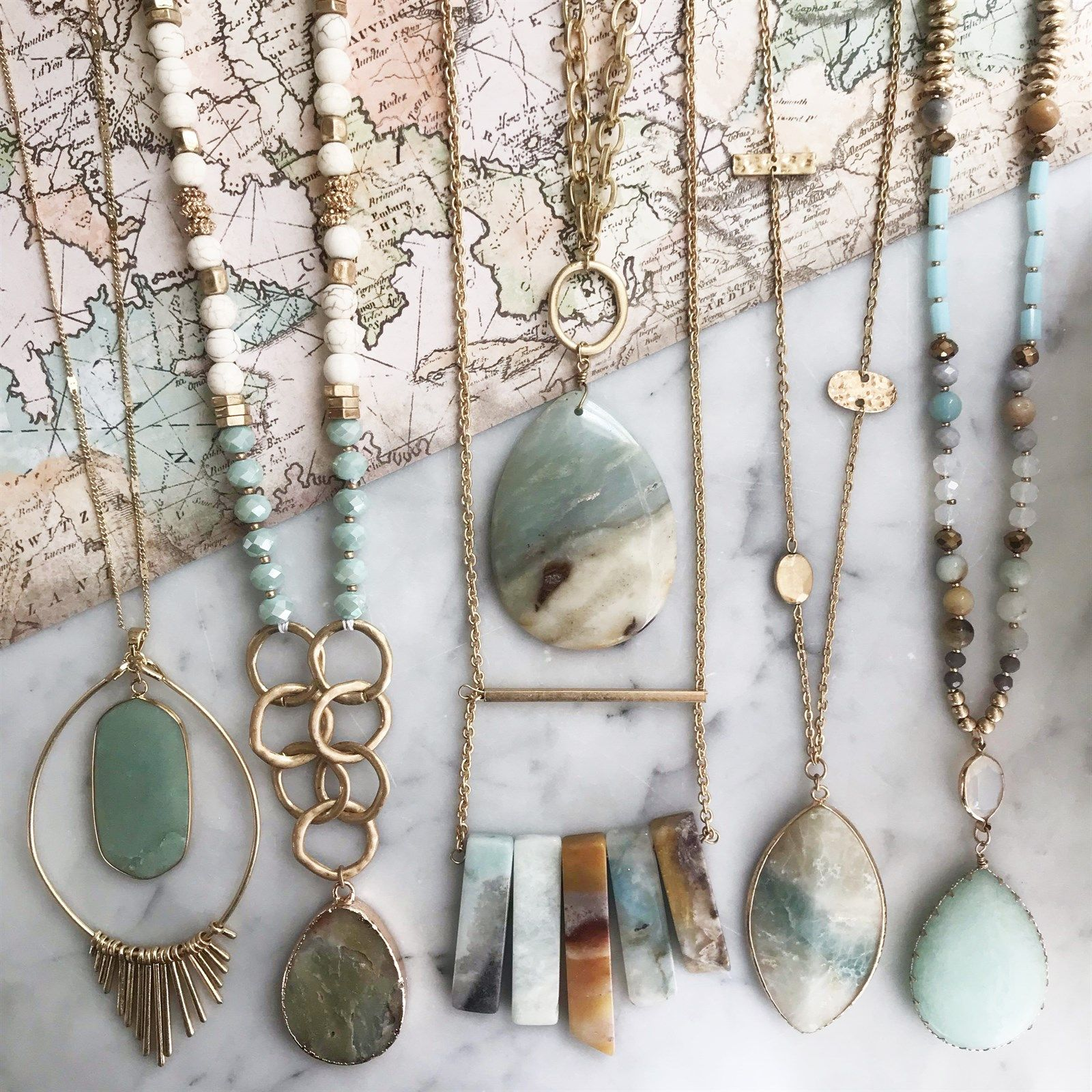 Photo of Destination Necklace Collection