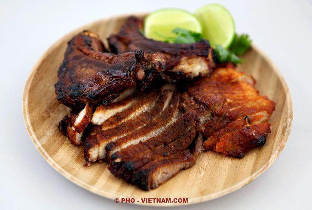 Xa xiu, Chinees geroosterd varkensvlees (foto: Pho Vietnam © ZYX Media)