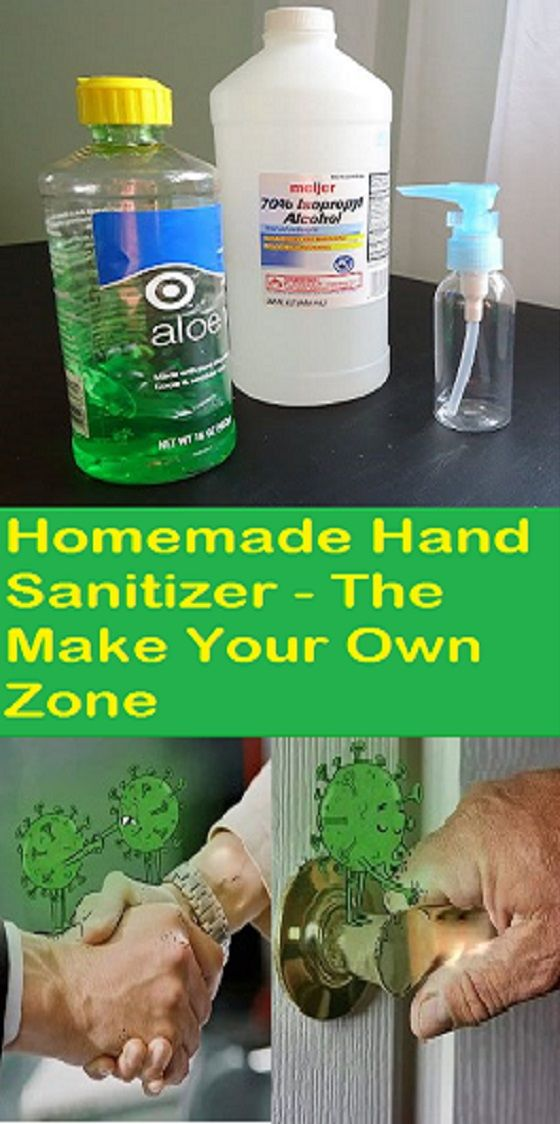 How To Make Homemade Hand Sanitizer In 2020 Healthy Advice Hand