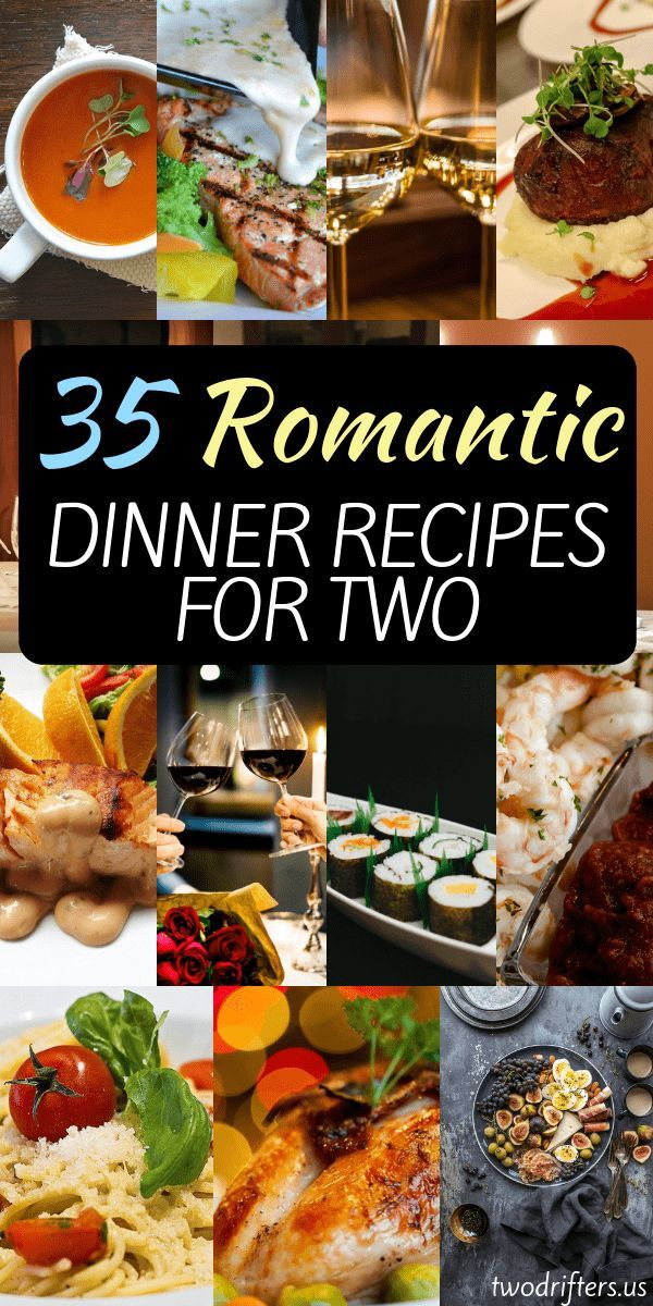 35 Delicious, Romantic Dinner Recipes for Two images