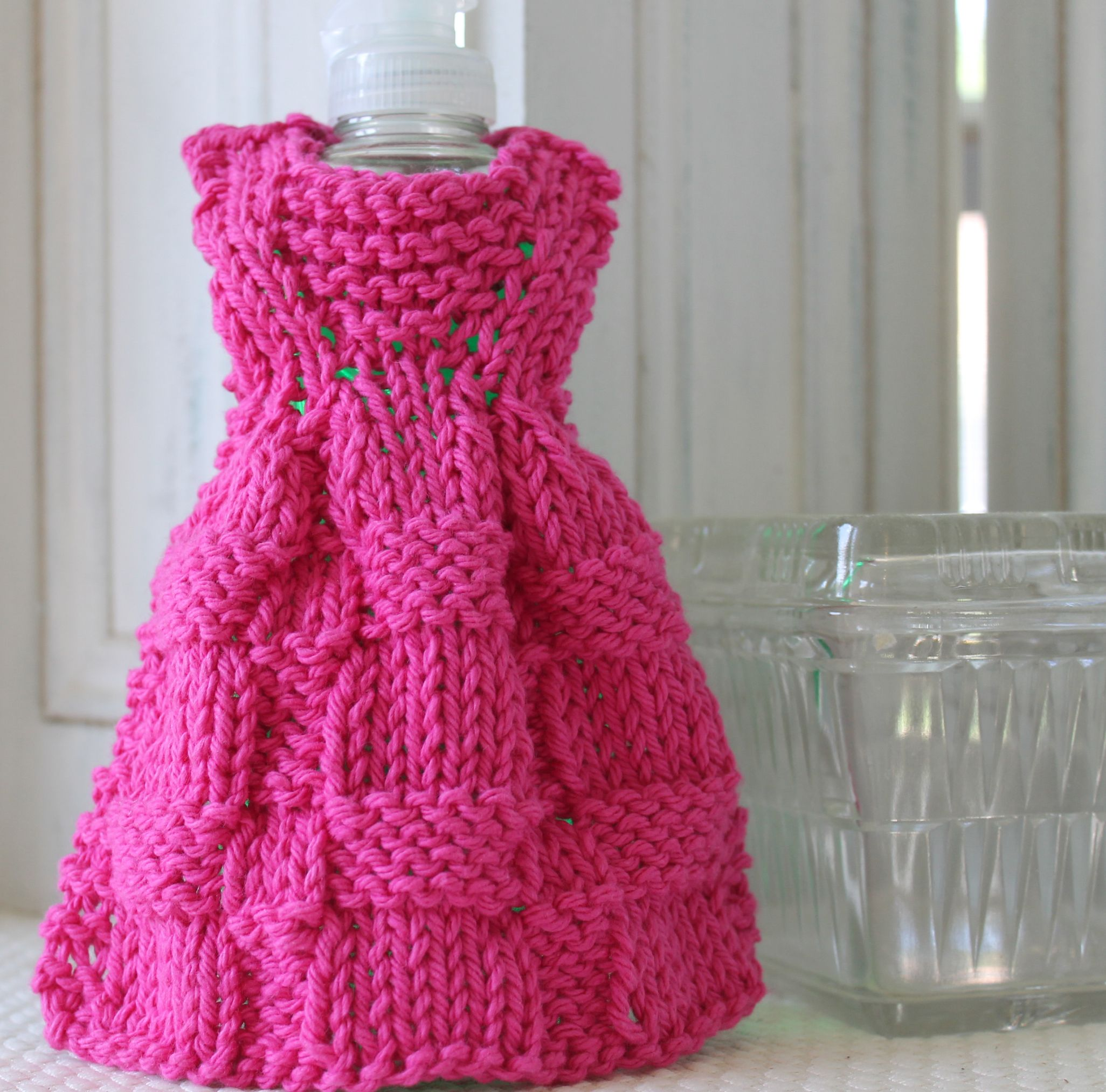 Friends & Family Dishcloth Dress knitting pattern is free when you ...