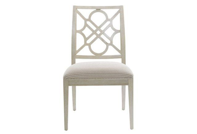 Etonnant Barbara Trellis Side Chair, Gray. Occasional Chair In Front Or Family Room.  We Need A Couple.