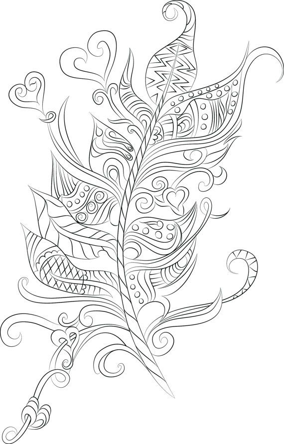 40 colouring pages- Digital download- 1 PDF- Print & Color   Doodles ...