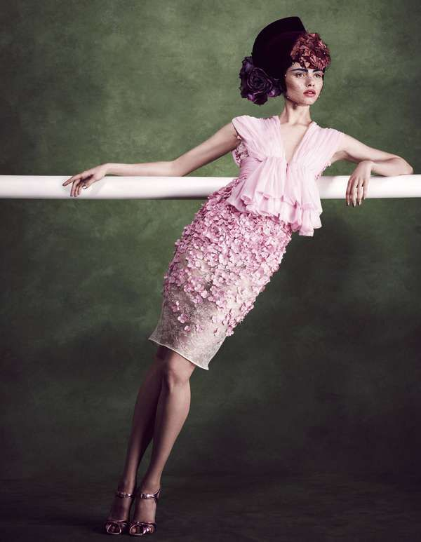 Victorian Era Editorials - The How to Spend It June 2012 Kliveckaite Photoshoot is High Society (GALLERY)