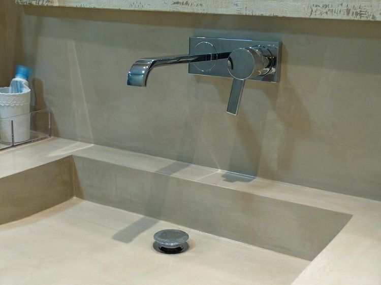 Original dise o de lavabo de cemento dise os r sticos - Diseno de lavabos ...