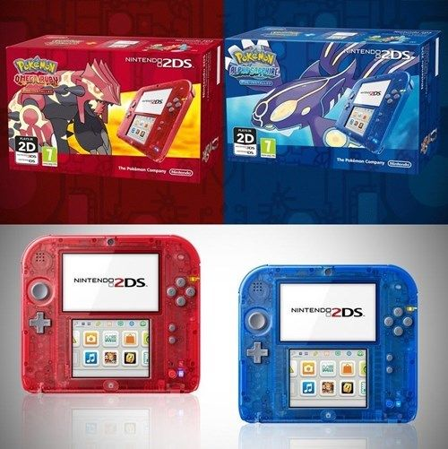 Check Out The New Oras Bundle With Special Transparent 2ds Models Gaming Products Oras Bundles