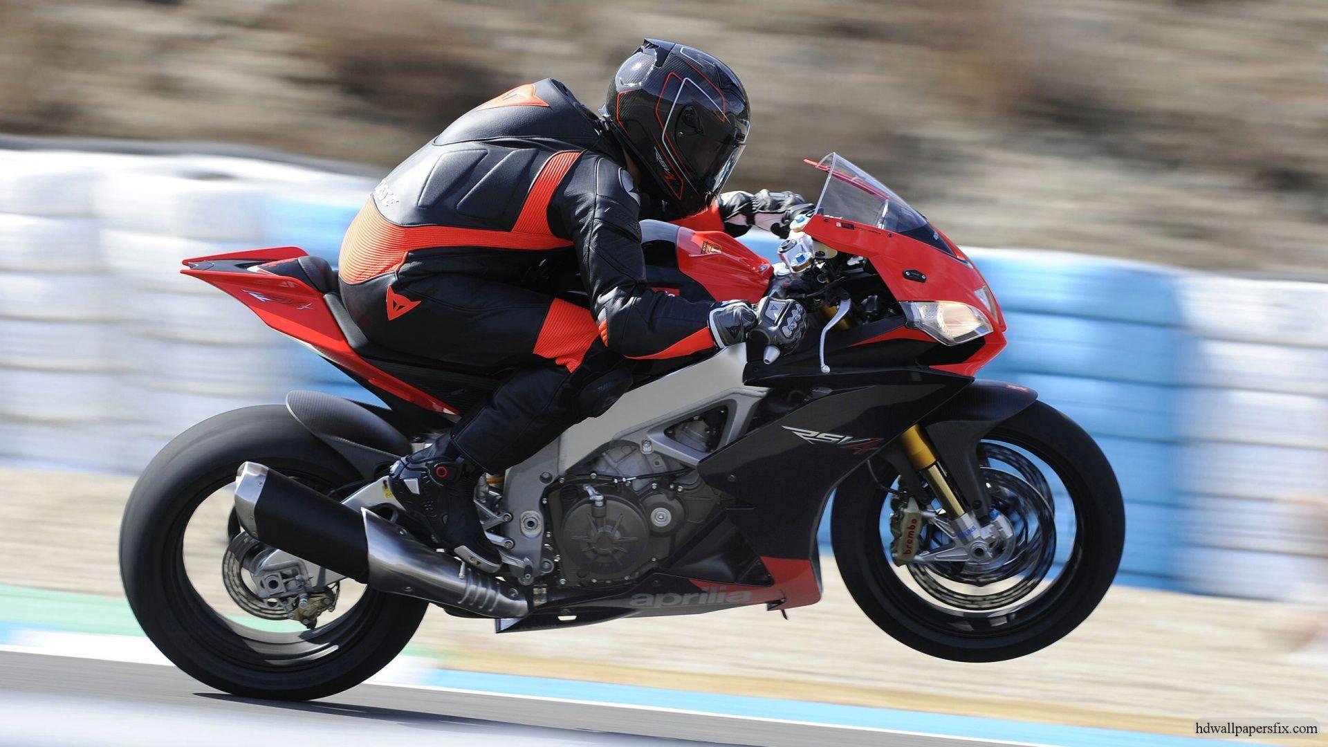 Aprilia RSV4 Bike HD Images Motorcycle wallpaper