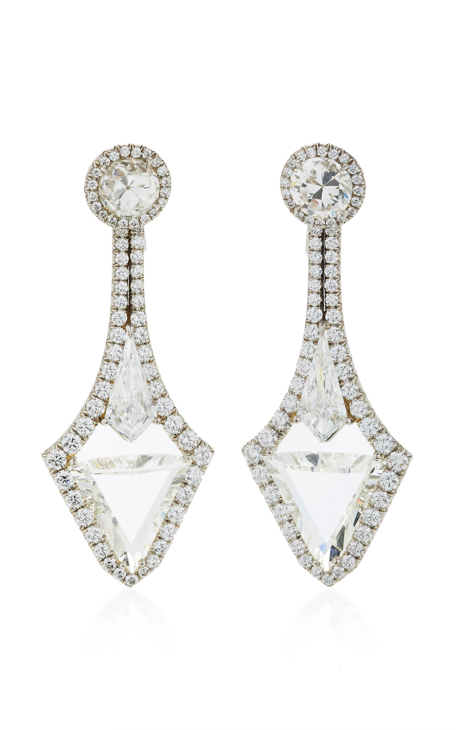 pinterest bayco diamond earrings pin of kind a one