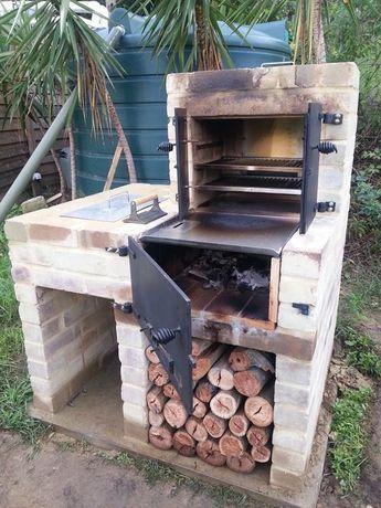 New Bbq Smoker Oven Build Brick Bbq Diy Bbq Diy Backyard
