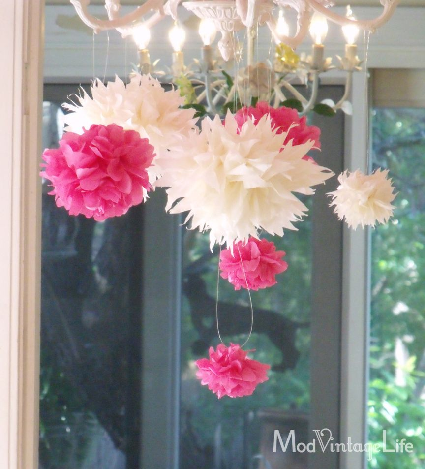 How to make tissue paper flowers tutorial baby shower ideas how to make tissue paper flowers tutorial mightylinksfo