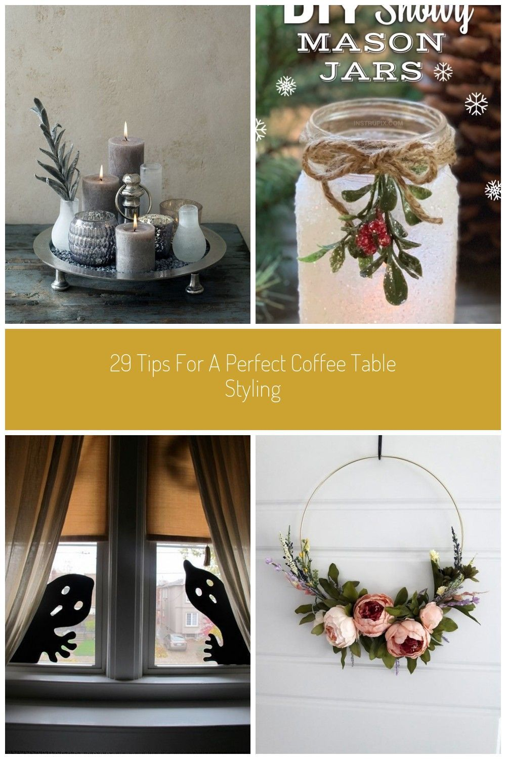 Romantic Cozy Coffee Table Decor Ideas Decoration For Home 29 Tips For A Perf In 2020 Decoration Ideen Ideen Creative