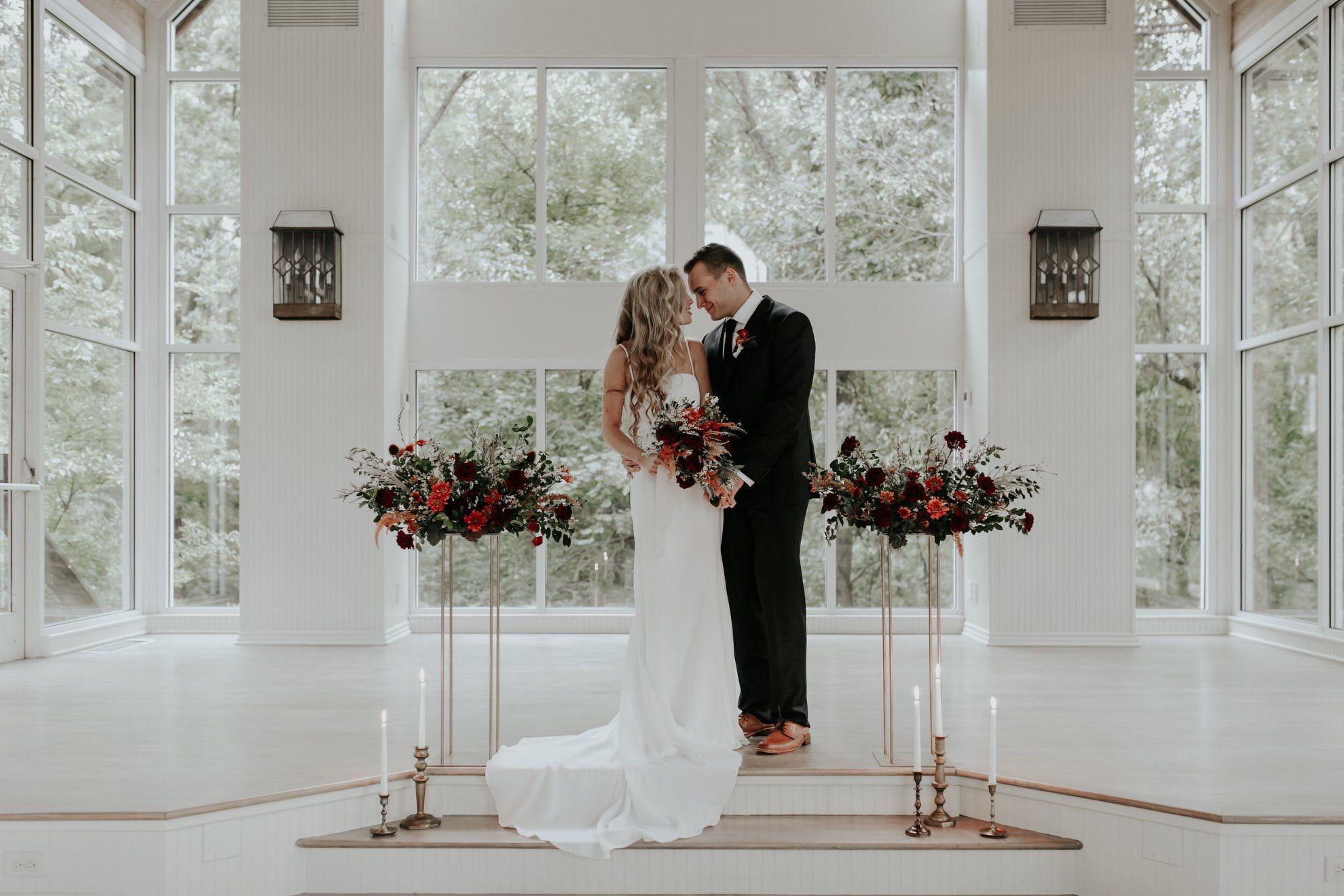 Glass Chapel Wedding Venue In Tulsa Oklahoma Wedding