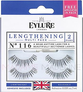 a26abdb617f This Eylure 116 multi pack is ideal for a perfetly natural look with its  gorgeous and precisely separated lashes. #lashes #falselashes