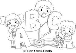 Clipart Black And White Children Google Search Poster Prints Vector Illustration Icon Illustration
