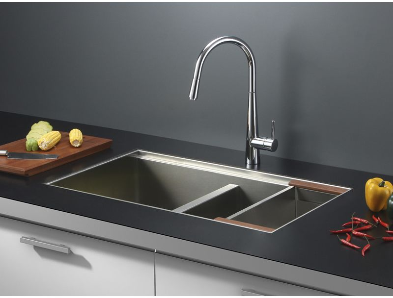 Ruvati Rvh8350 Undermount 16 Gauge 33 Kitchen Sink Double
