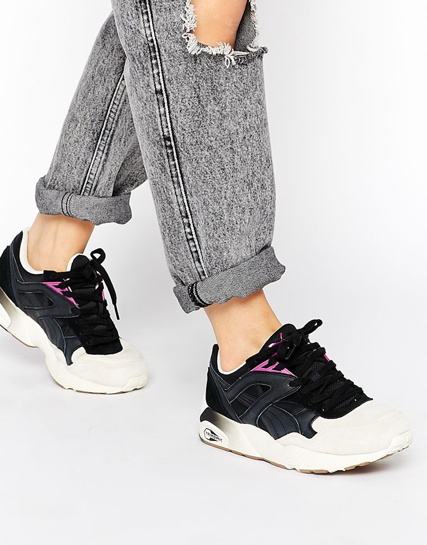 buty puma r698 matt & shine trinomic