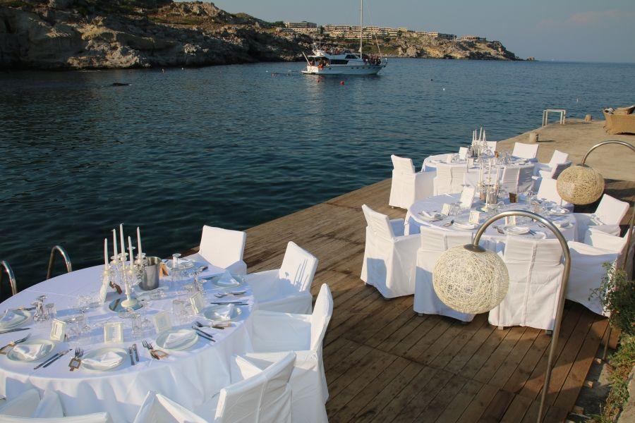 Kalithea spa wedding reception venue in rhodes with