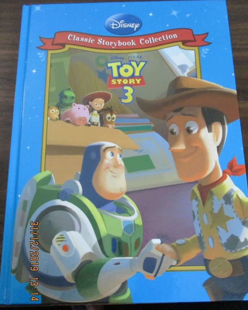 Disney classic storybook collection toy story 3 hardback