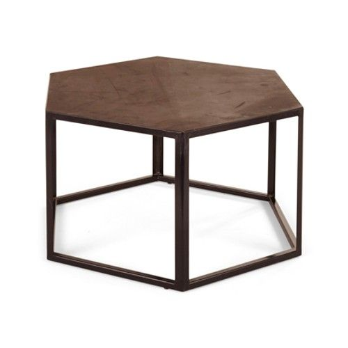 BoBo Intriguing Objects Hexagonal Rubber Side Table