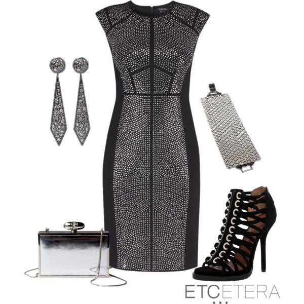 Silver Studded Dress