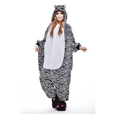 nouvelle zèbre cosplay® polaire kigurumi adulte pyjama – EUR € 29.39