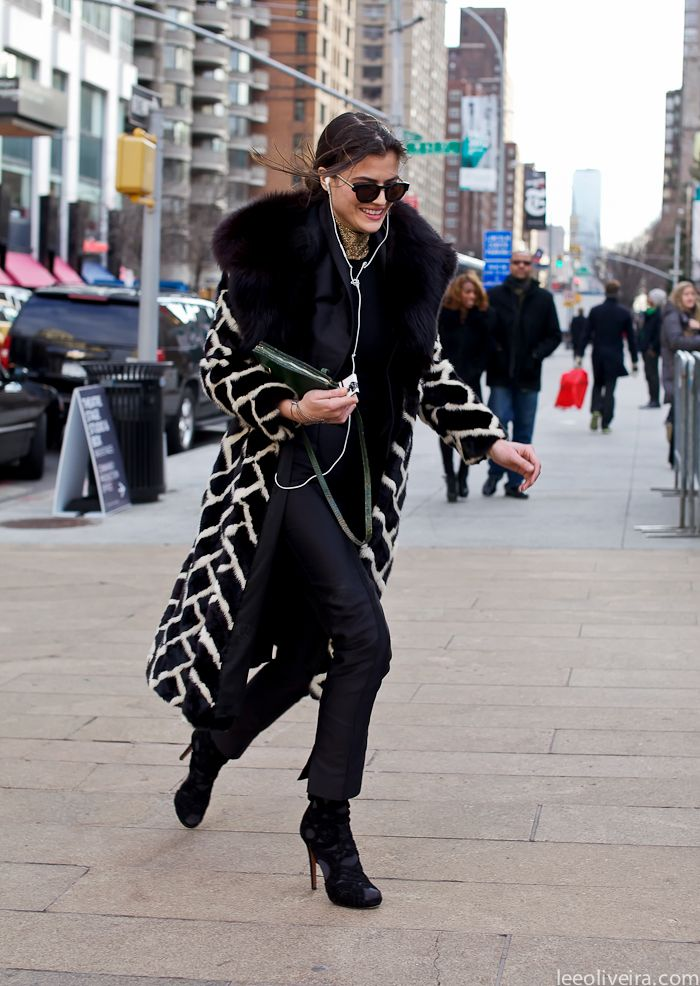 On the streets of New York Fashion Week nyfw