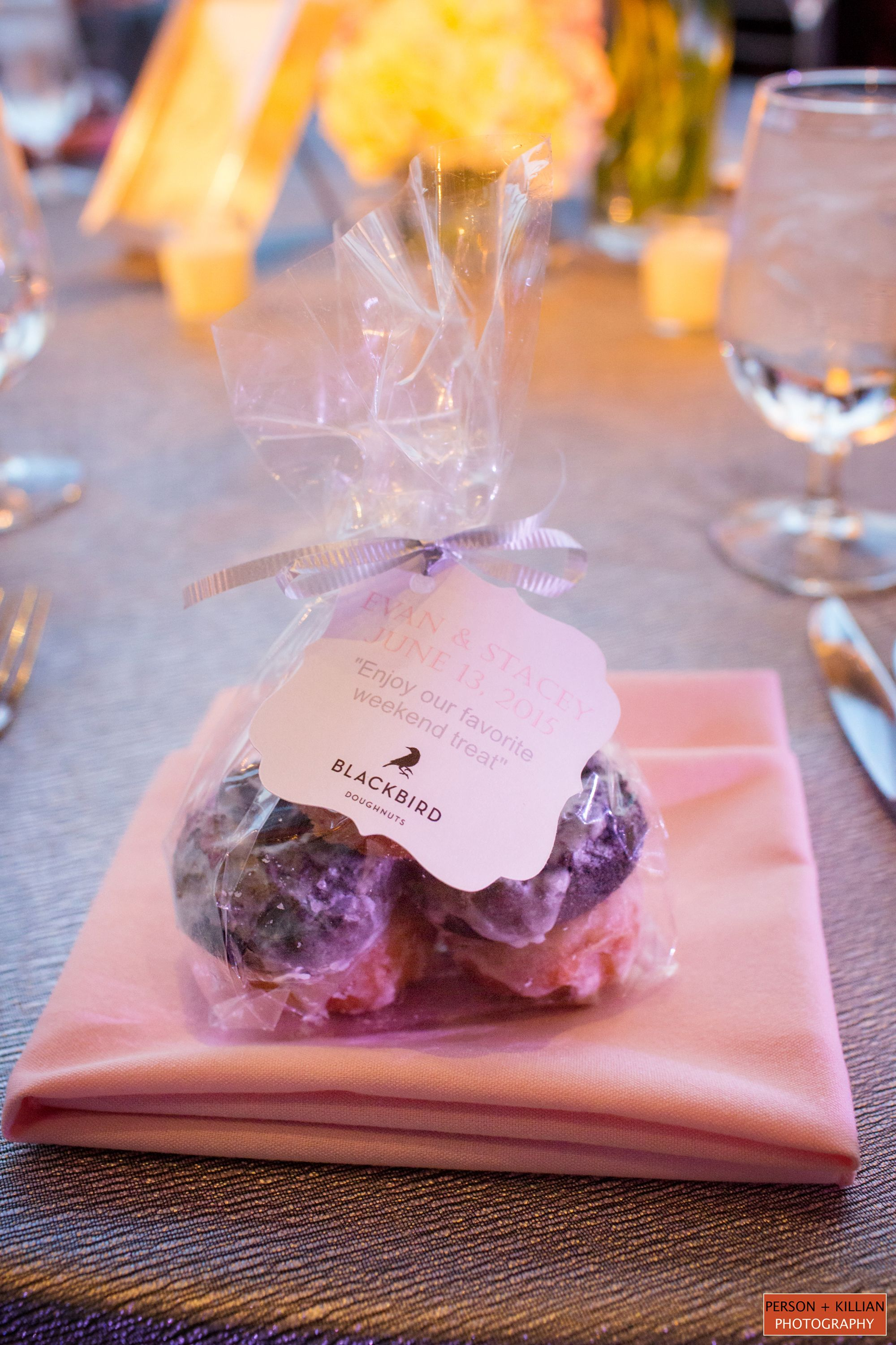 Blackbird Doughnuts, Creative Wedding Favors, Edible Wedding Favors ...