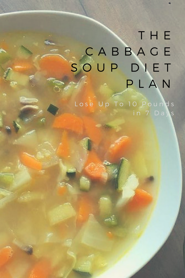 Lose Up To 10 Pounds In 7 Days With The Cabbage Soup Diet