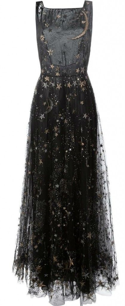 06dc9734644 stars   moon embroidered dress   valentino