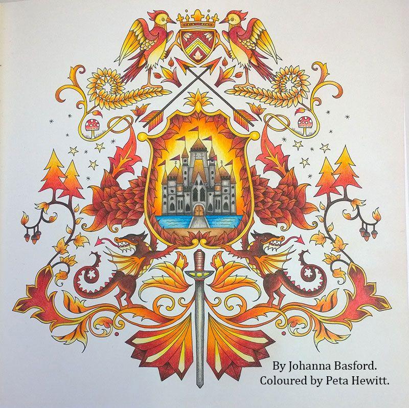 Enchanted Forest La Artistino Peta Hewitt Coloring BookColoring