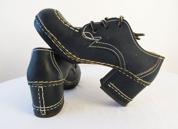 Deadstock Whalebones Navy Blue Shoes