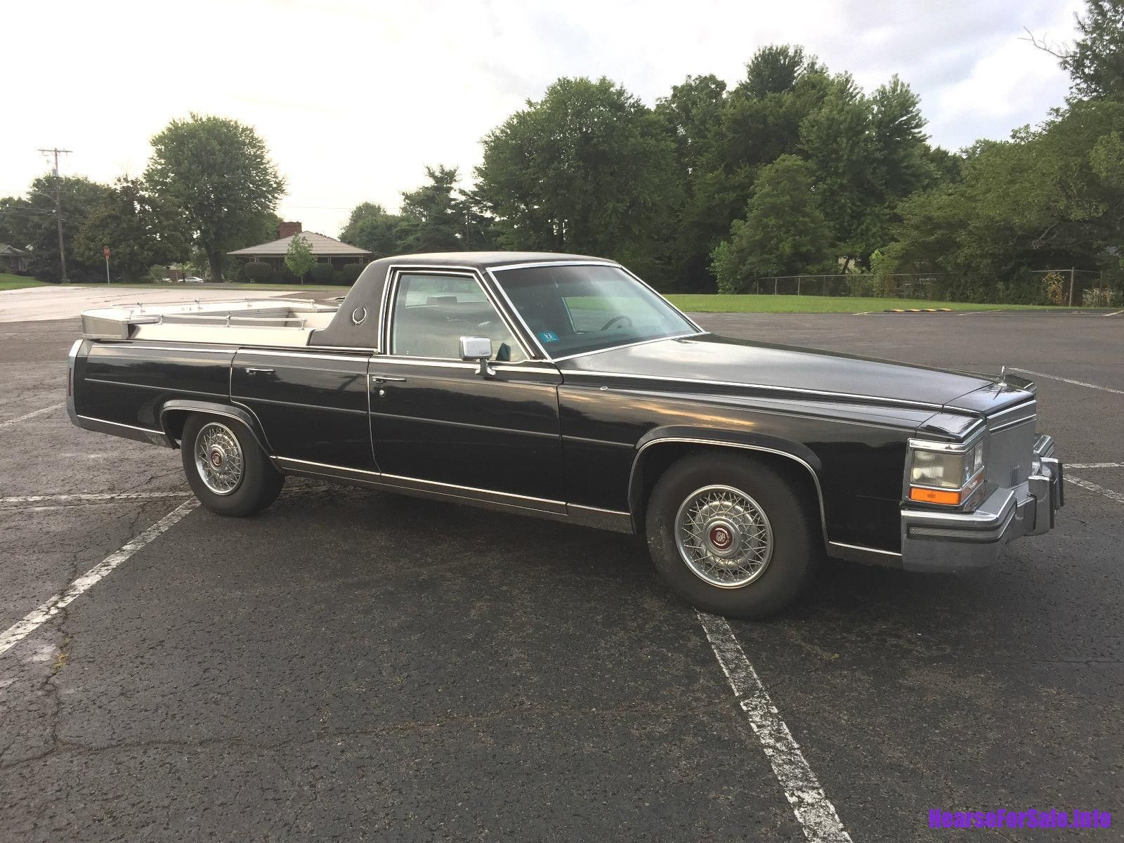 1989 Cadillac Fleetwood Brougham Funeral Flower Car Hearse Hearses