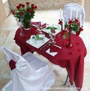 deco de table de st valentin un d ner presque pinterest deco de table table et saint. Black Bedroom Furniture Sets. Home Design Ideas