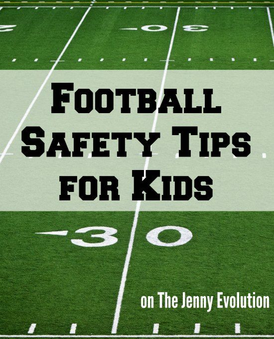 Football Safety Tips Safety Rules For Kids Safety Tips Kids Health