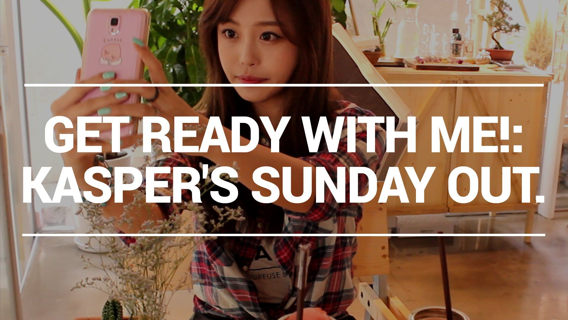 Get ready with me : Kasper's Sunday out ! 캐스퍼와 일요일 보내기!