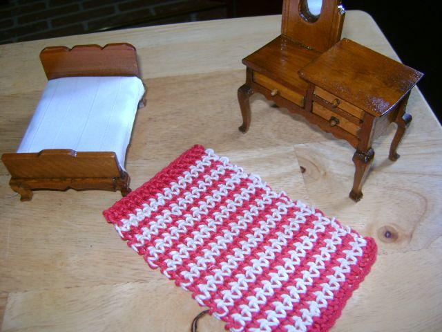 Star Wars Crochet Dolls Free Pattern : crocheted doll house rug crochet by Deb Pinterest ...