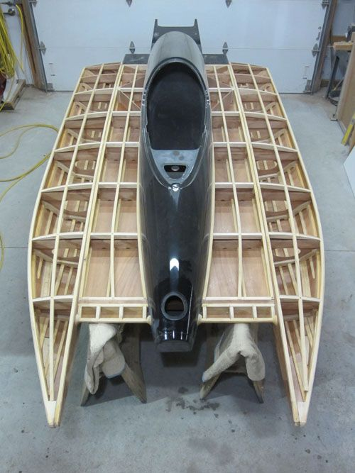 This Is A Picture Of A Opc Racing Tunnel Boat With A