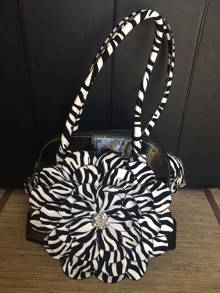 Hananel Faux Leather Black And White