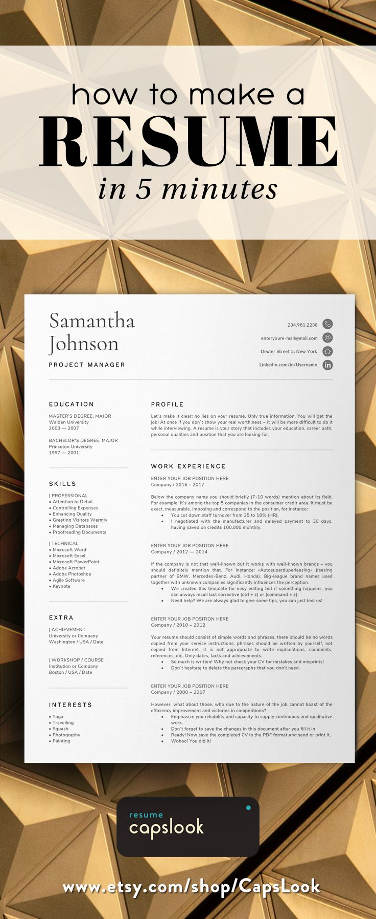 Save Time. Get More Interviews. +30 Resume Templates