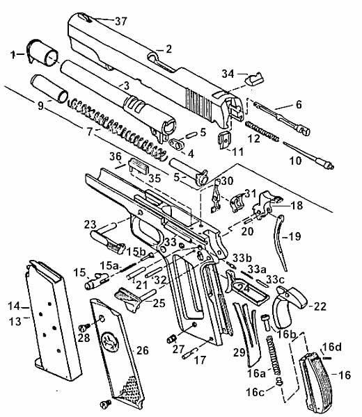 M9 22 Pistol W Wood Grips