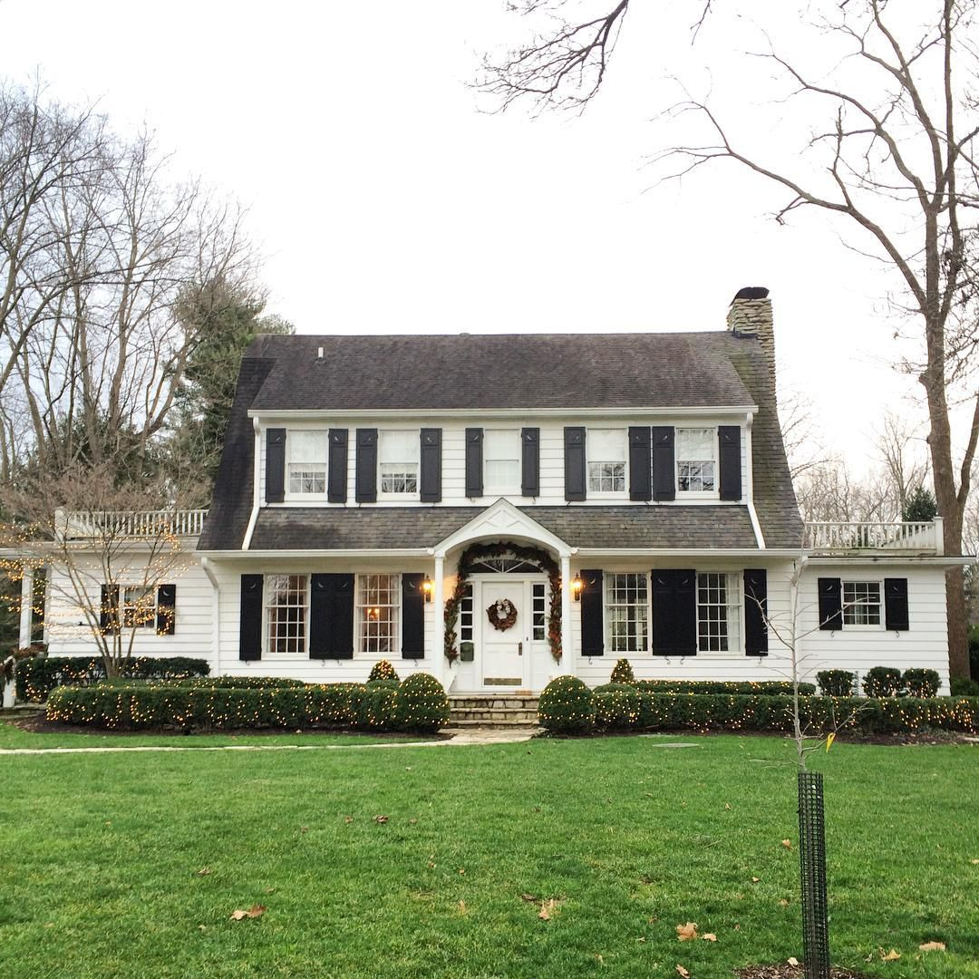 White Dutch Colonial