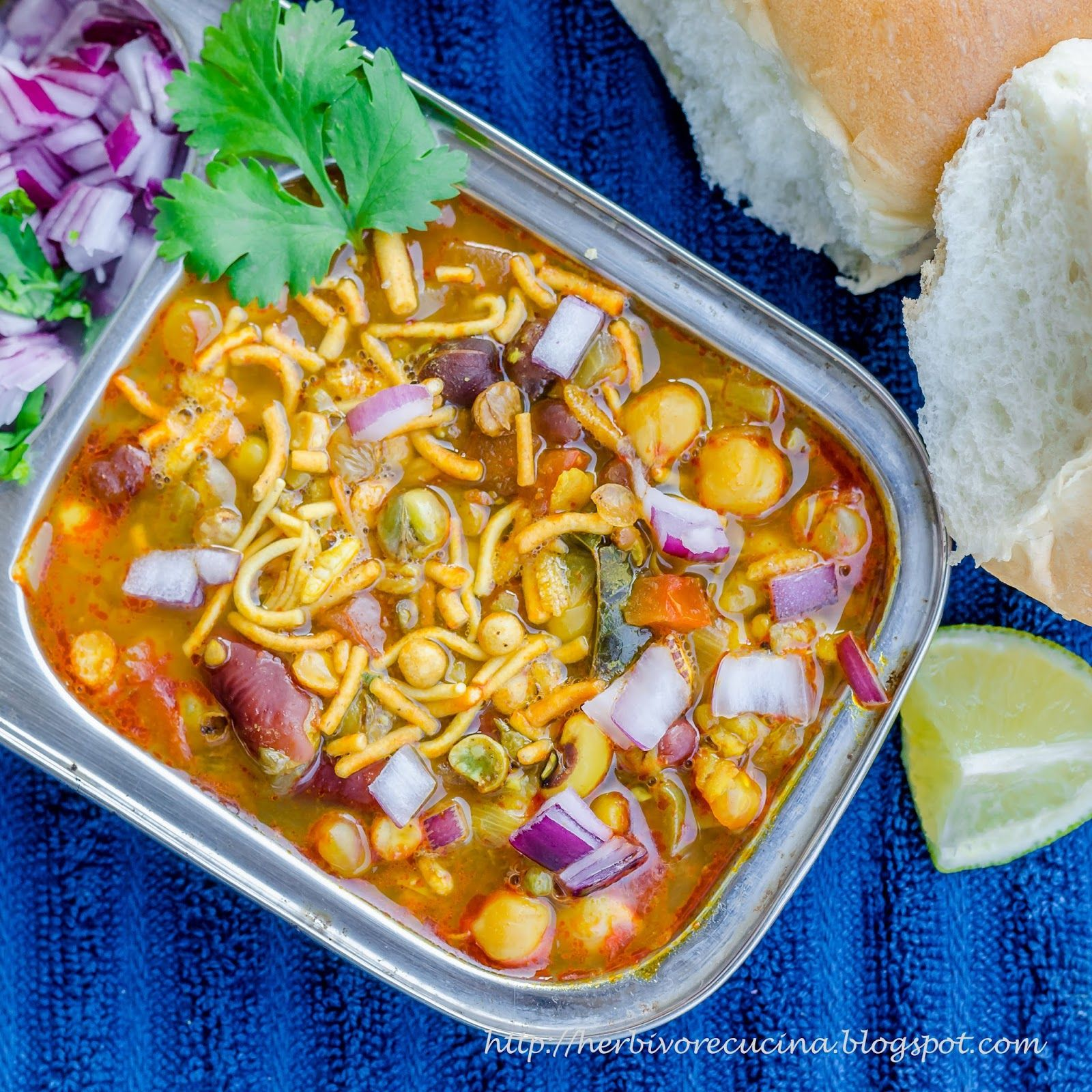 """Misal (Marathiमिसळ, meaning """"mixture""""), is a delicacy in"""