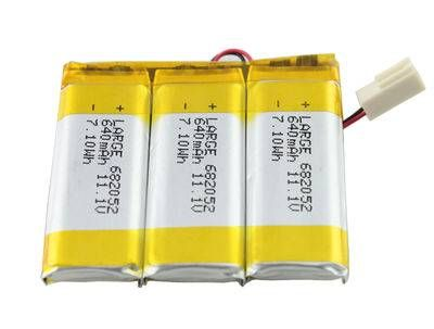 682052 3s1p Lithium Polymer Battery Pack 11 1v 640mah Polymer Lithium Battery Battery