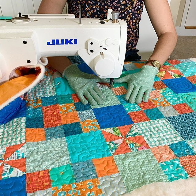 Free Motion Quilting You Don T Need Anything Fancy In 2020 Start Quilting Quilts Free Motion Quilting