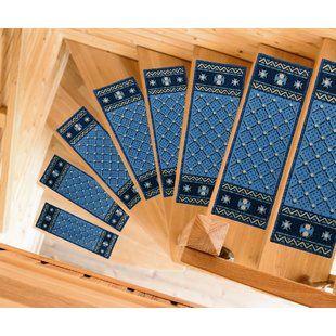 Best Tucker Murphy Pet Beaupre Yellow Leaf Stair Tread 640 x 480