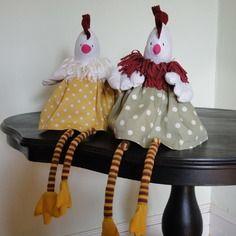 poule en tissu d corative pour agr menter votre int rieur poules et coqs pinterest poule. Black Bedroom Furniture Sets. Home Design Ideas
