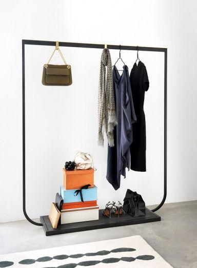 Hay Garderobe stilvolle und praktische garderoben merchandising ideas metal
